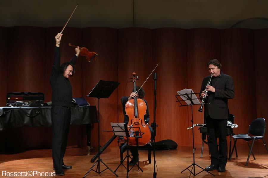 Sclavis-Pifarely-Courtois a Parma Jazz Frontiere - foto Rossetti/PHOCUS