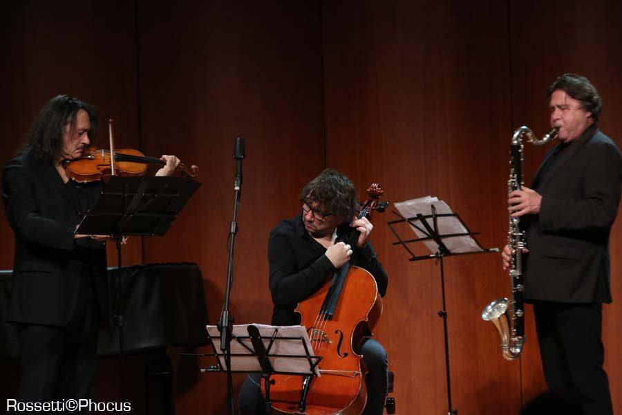 Parma Jazz Frontiere Sclavis-Pifarely-Courtois_5932_Rossetti-PHOCUS