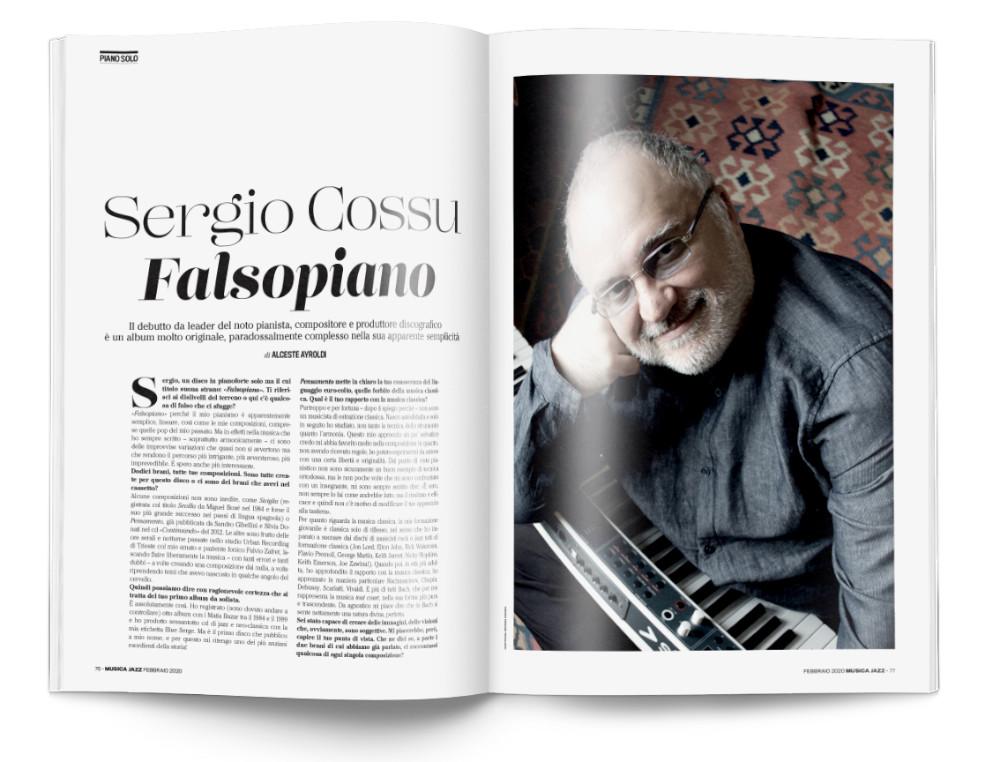 Sergio Cossu - Musica Jazz di febbraio 2020