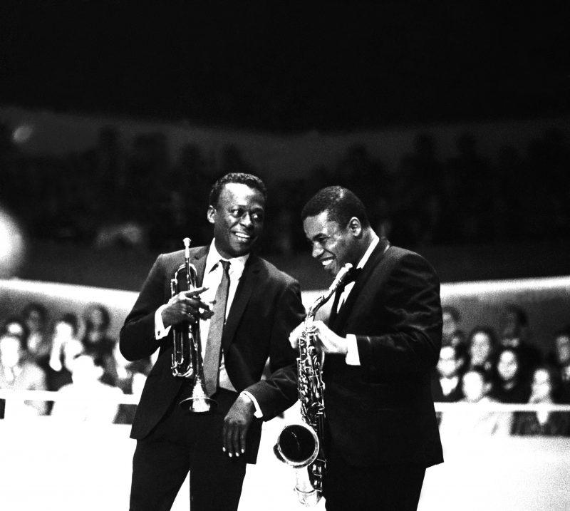 Miles Davis e Wayne Shorter , Berlino 1964