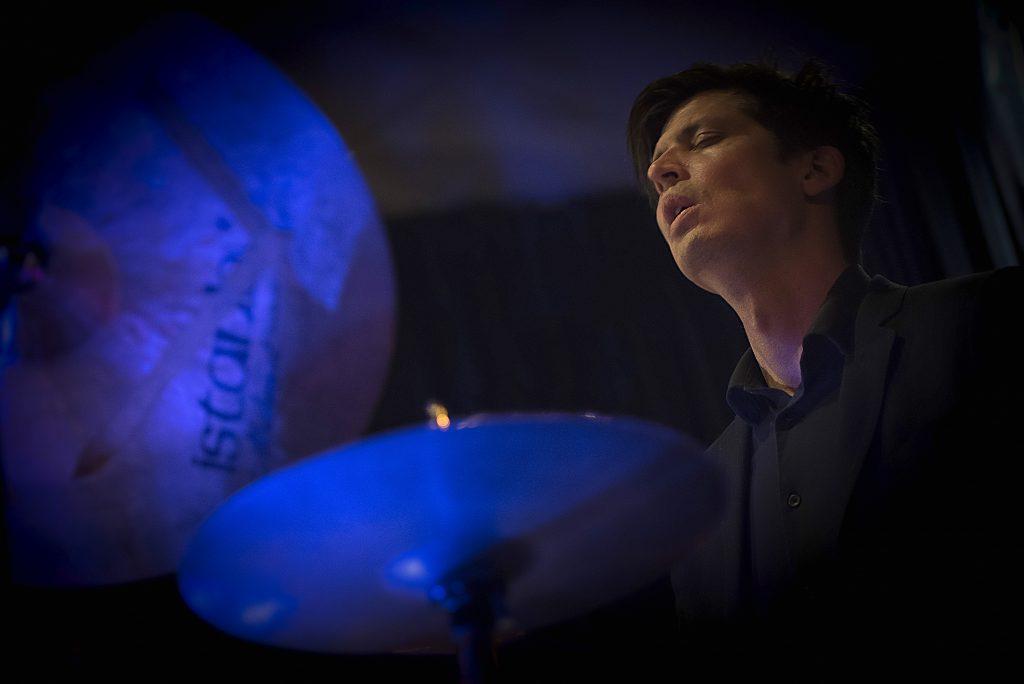 Ches Smith, foto di Annamaria Lucchetti