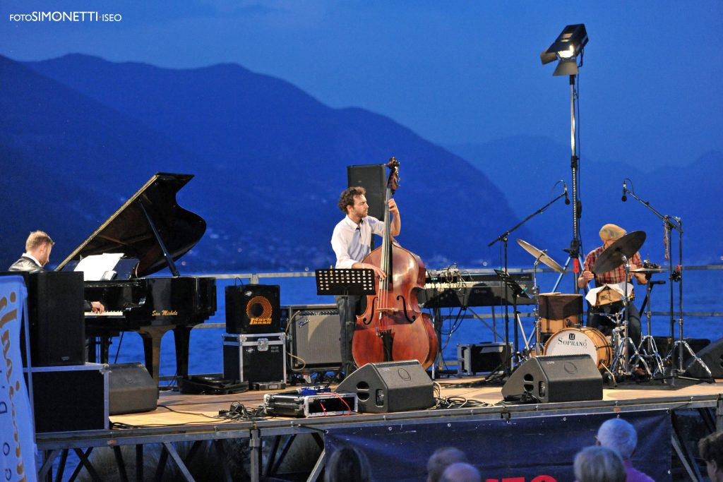 Simone Graziano, Francesco Ponticelli ed Enrico Morello - Iseo Jazz