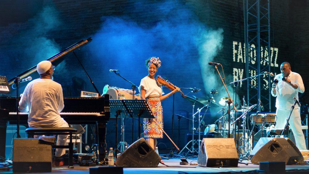 Fano Jazz by the Sea 2019 - Omar Sosa, Yilian Cañizares, Gustavo Ovalles