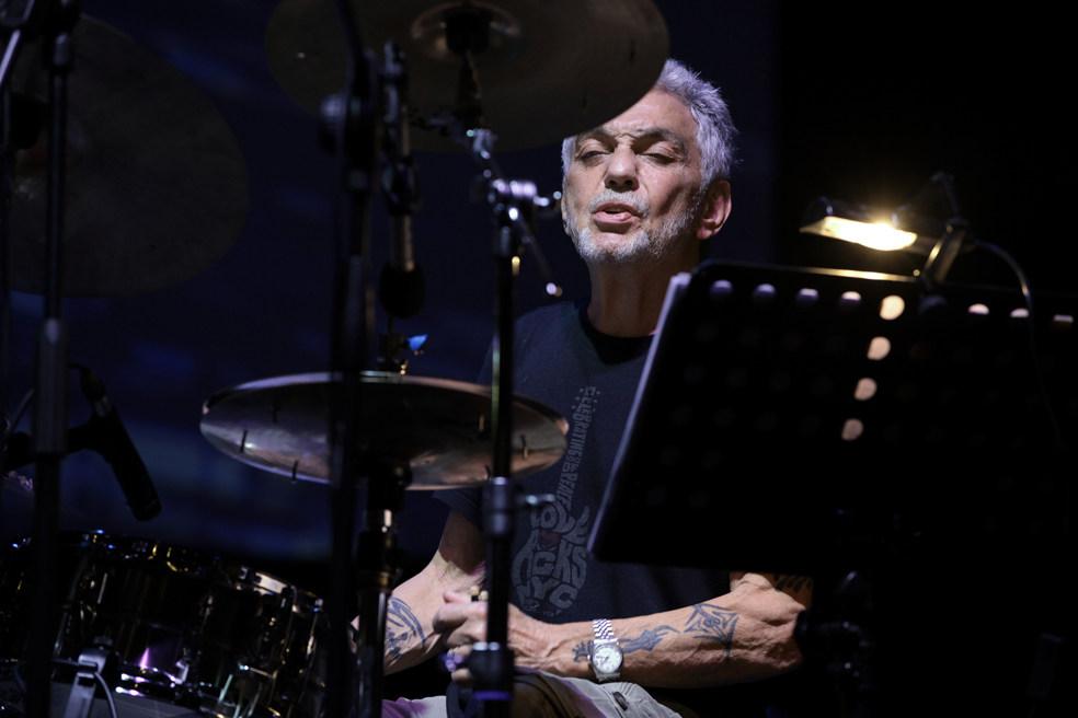 Steve Gadd (foto di Agostino Mela) - Jazz Club in Sardegna