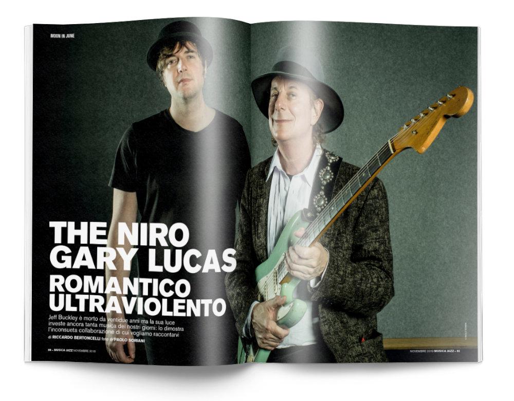 The Niro e Gary Lucas - Musica Jazz di novembre 2019