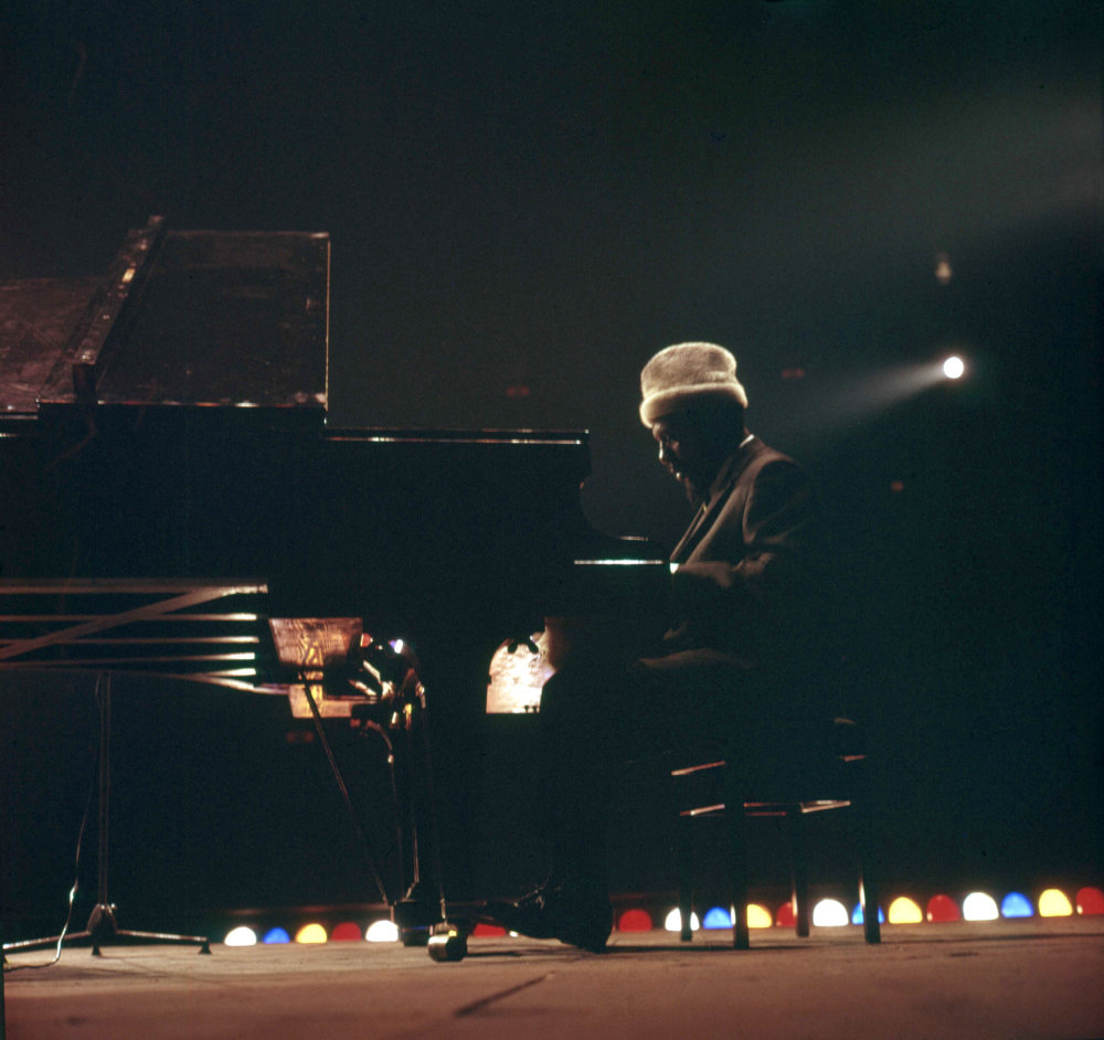 Thelonious Monk (foto di Riccardo Schwamenthal)