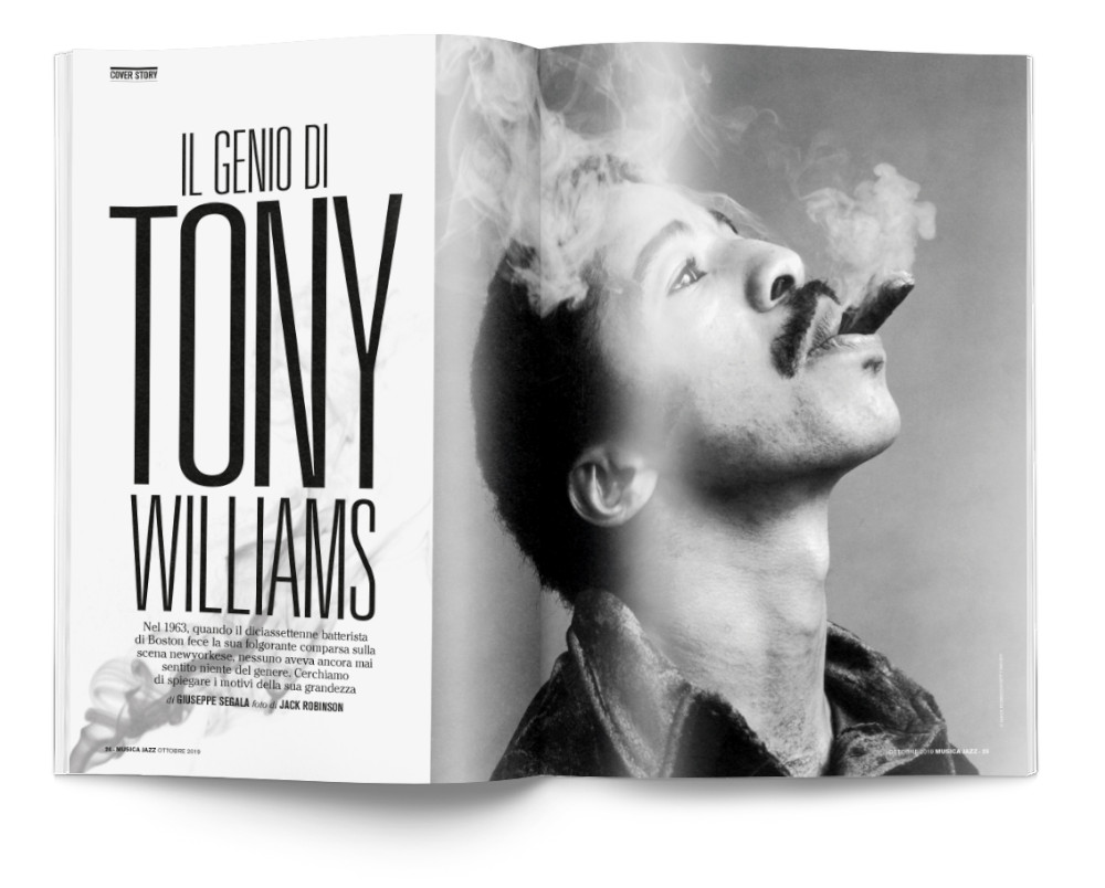 Tony Williams - Musica Jazz di ottobre 2019
