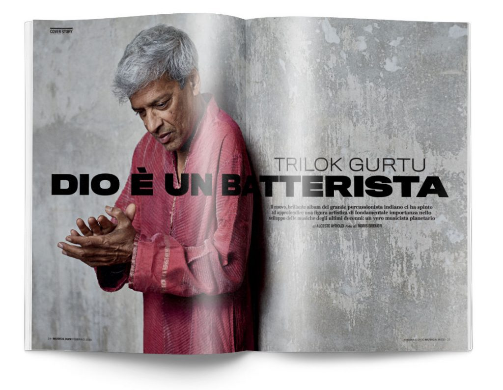 Trilok Gurtu - Musica Jazz di febbraio 2020