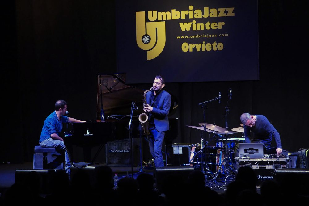 Umbria Jazz Winter - Giovanni Guidi, Francesco Bearzatti e Michele Rabbia