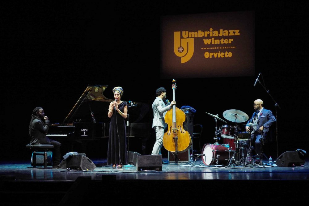 Umbria Jazz Winter -JazzMeia Horn Quartet