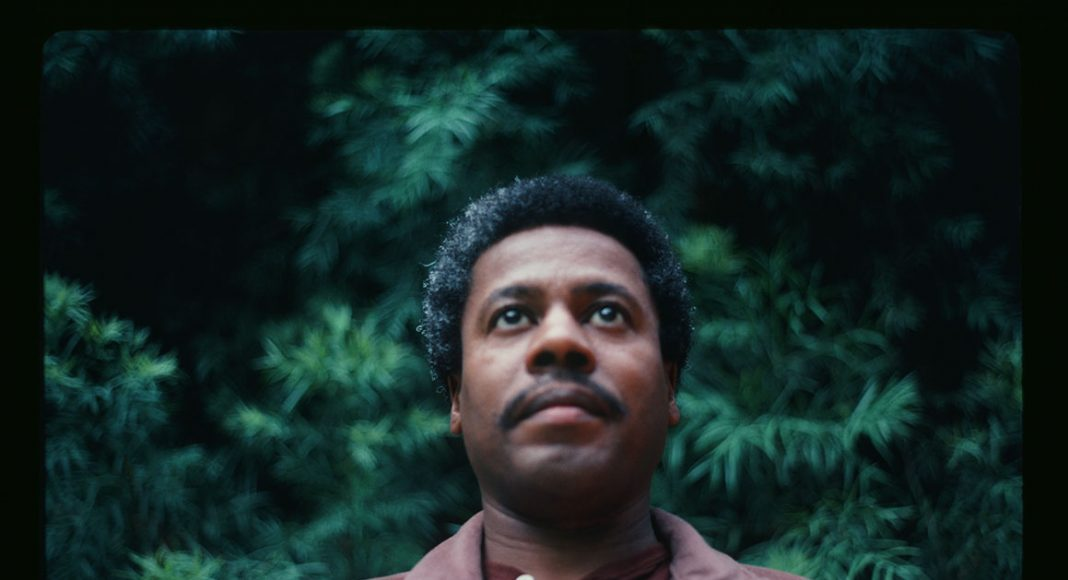 Wayne Shorter outside his home in Studio City, California, April 1981