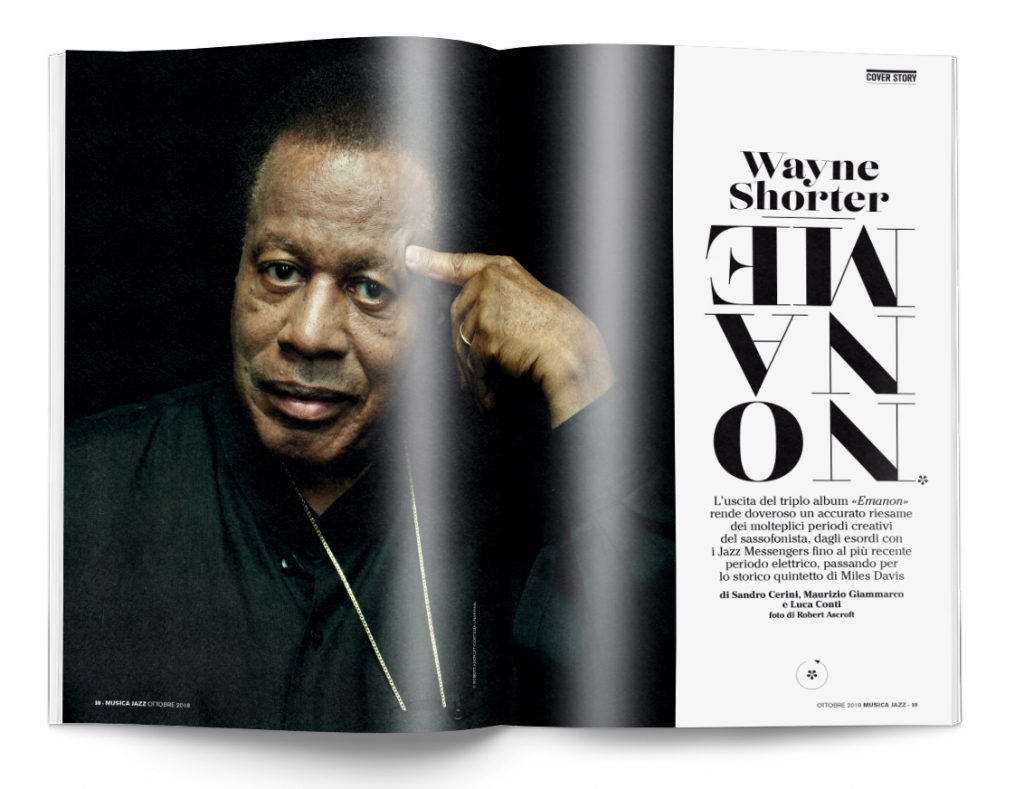 Wayne Shorter - cover story