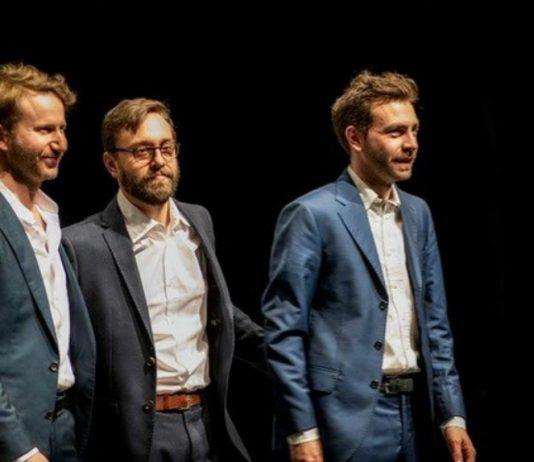 Simone Graziano, Francesco Ponticelli e Enrico Morello - foto di repertorio Caterina Di Per
