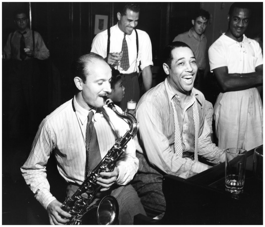 Bud Freeman e Duke Ellington, 1939