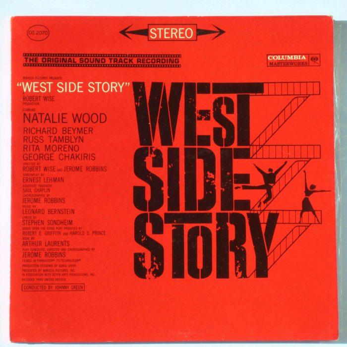 La copertina dell'album della colonna sonora di West Side Story