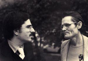 Enrico Pieranunzi & Chet Baker a Roma, dicembre 1979 - foto Massimo Perelli