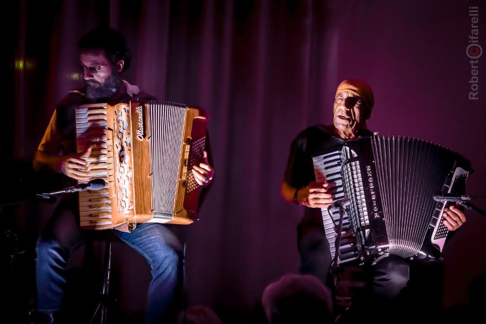 Il duo Salis-Zanchini (foto di Roberto Cifarelli)