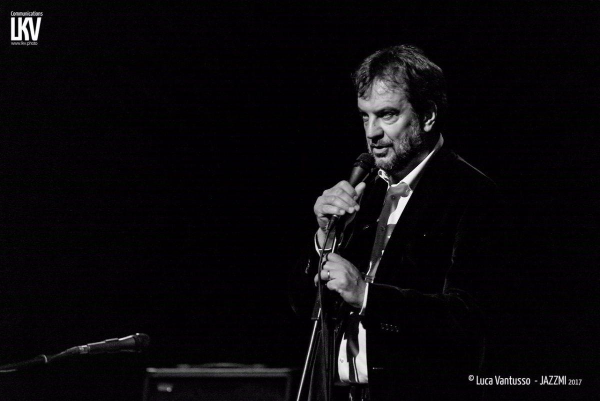 Luciano Linzi, direttore artistico di JazzMi - foto Luca Vantusso