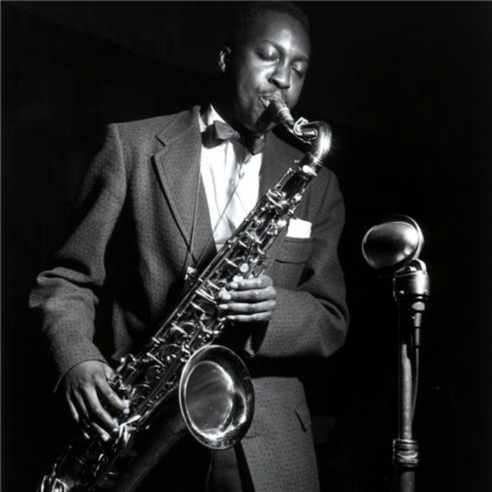 Hank Mobley 1955 © Francis Wolff