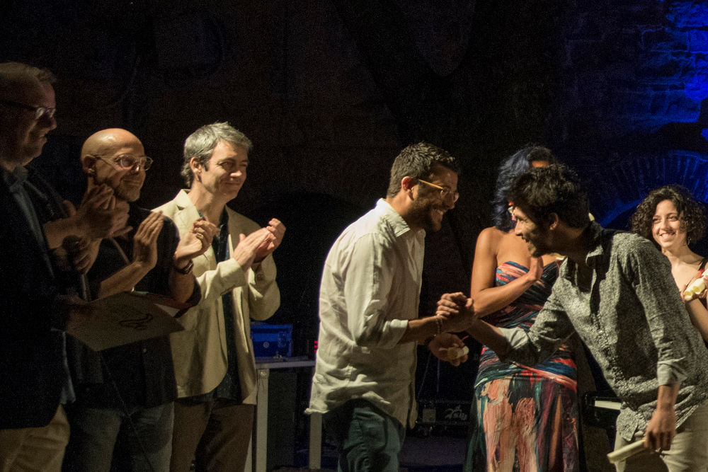 La premiazione del vincitore del Premio Massimo Urbani 2019