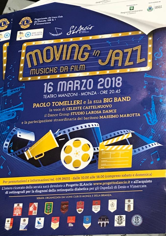 moving in jazz Monza