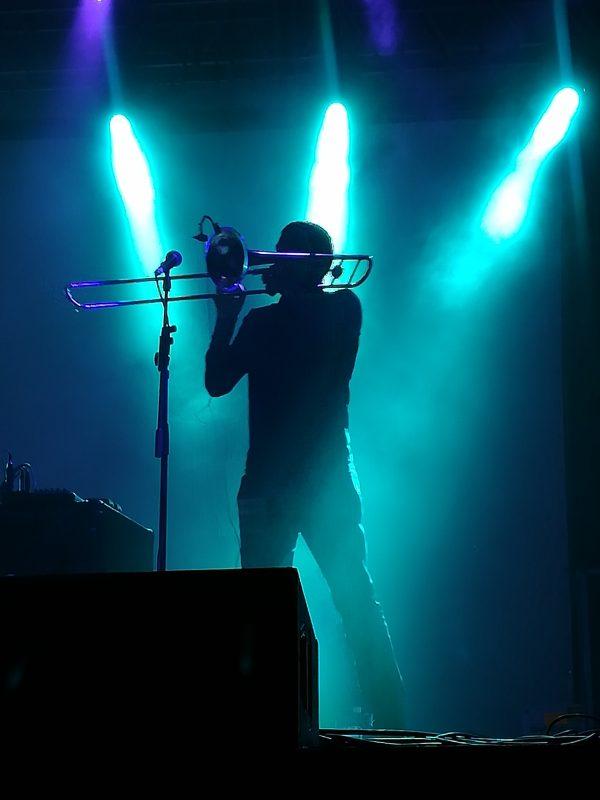 Gianluca Petrella controluce, Time in Jazz 2017