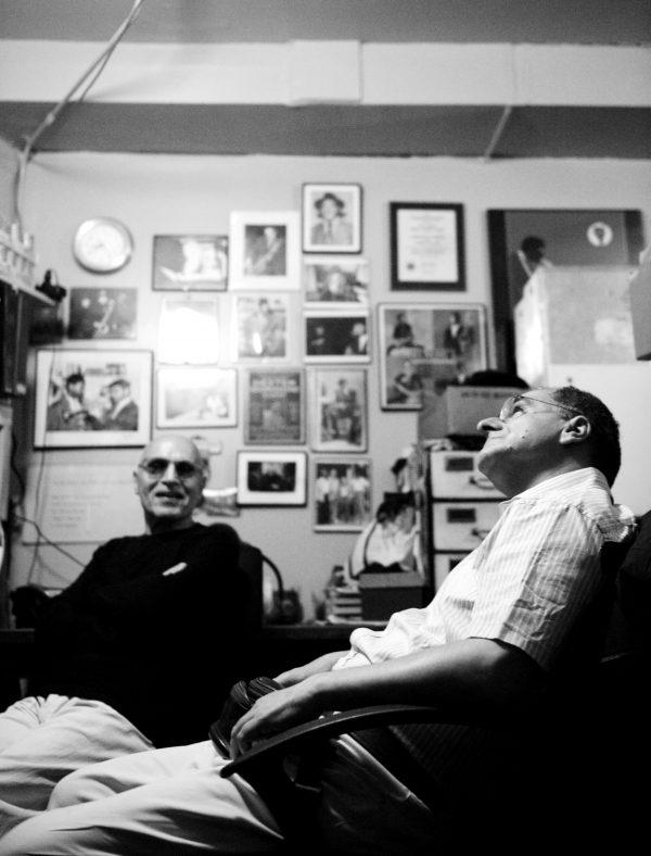 Paul Motian ed Enrico Pieranunzi - foto Andrea Boccalini