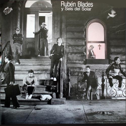 Uno dei più famosi album di Rubén Blades con i Seis del Solar
