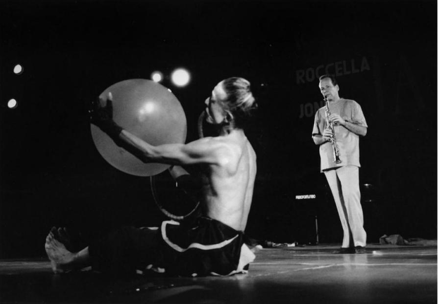 Steve Lacy e Daimon Shiro, Roccella Jazz Festival 1991 - foto Pino Ninfa