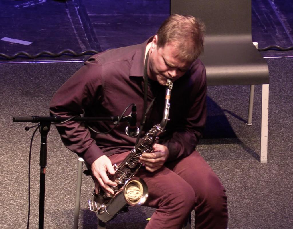 Briggan Krauss, Jazzfestival Saalfelden 2017 - foto Paolo Burato
